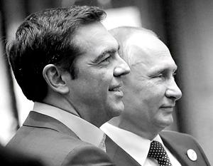 Для Алексиса Ципраса общие фотографии с Владимиром Путиным стали большим плюсом рейтингу