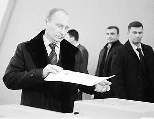 Электоральные потери «Единой России» Владимир Путин назвал «неизбежными»