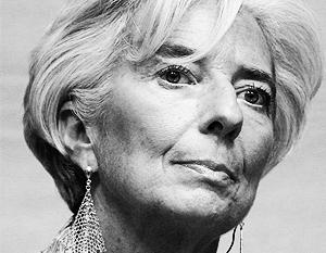 Будущее мировой экономики выглядит мрачным, считает Кристин Лагард