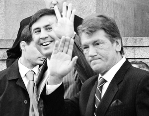 Отношения Украины с Грузией во времена Ющенко и Саакашвили были куда теплее