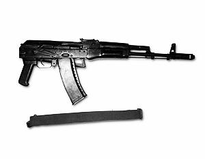 Массогабаритный макет ничем внешне не отличается от боевого оружия