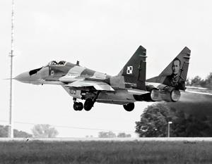 В распоряжении Польши остаются одни из самых больших запасов советского оружия (на фото – МиГ-29)