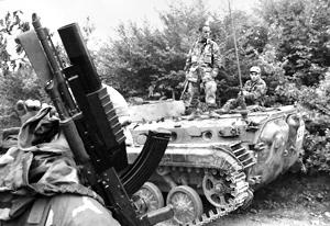 Военные Южной Осетии уничтожили грузинскую диверсионную группу