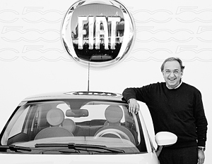 Глава Fiat и Chrysler Серджио Маркионне ищет третьего партнера из Китая, Индии или Восточной Европы