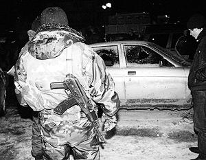 Злоумышленники открыли плотный огонь по машине начальника милиции Махачкалы