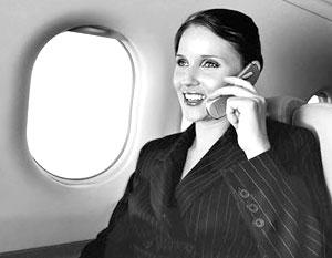 В самолете разрешат пользоваться мобильным