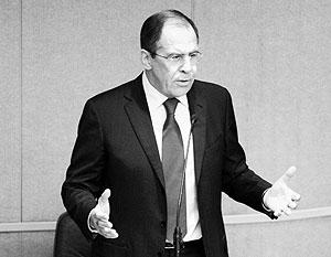 Лавров подчеркнул, что Россия не дает подачек