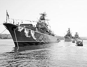 В Киеве смотрят на крейсеры Черноморского флота как на дойную корову