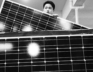 США хотят ограничить ввоз в свою страну китайских солнечных батарей