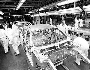 Европейские автопроизводители вынуждены сократить производство на 20%