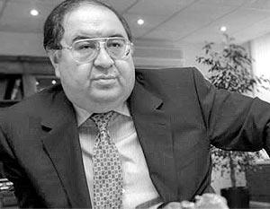 Владелец холдинга «Металлоинвест» Алишер Усманов