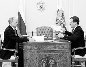 Владимир Путин проводит консультации с предложенными ему Медведевым членам правительства
