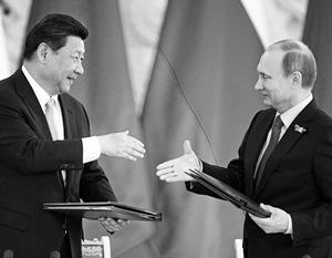 Владимир Путин уверен, что сотрудничество России и Китая может привести к созданию общего экономического пространства на всем континенте