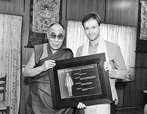 Далай-лама и Дмитрий Ицков
