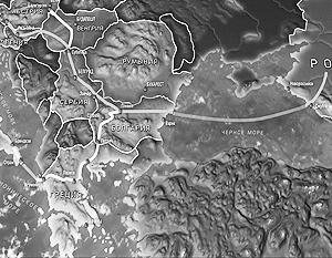 От Болгарии рассматриваются два возможных маршрута «Южного потока» – на север и на юг