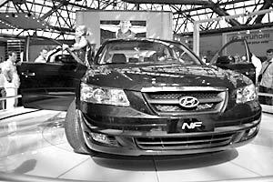 Hyundai NF на «Мотор Шоу–2005»