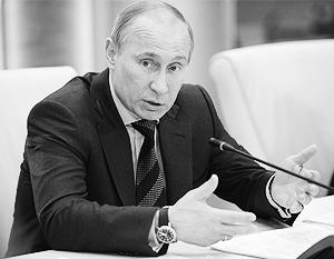 Сразу после вступления в должность президента Владимир Путин издал первые указы