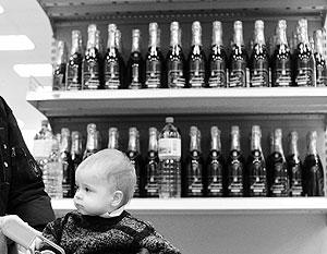 В Госдуме рассчитывают оградить детей от алкоголя новым законом
