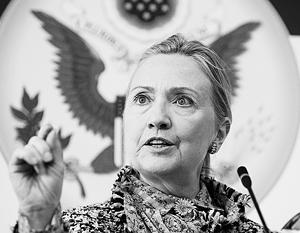 Клинтон утверждает, что российские вертолеты находятся на полпути в Сирию