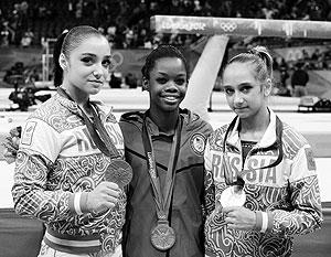 Дуглас стала первой афроамериканкой, ставшей олимпийской чемпионкой в многоборье