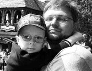 Благодаря новому закону Никита Белых сможет гораздо чаще видеть своего сына (фото 2009 года)