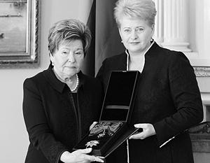 Ельцина призвала Грибаускайте «беречь Литву», как Ельцин когда-то призвал Путина «беречь Россию»