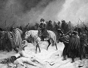 Отступление Наполеона из Москвы. Адольф Нортен