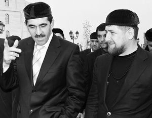 Нащупывая границу между своими землями, Юнус-Бек Евкуров и Рамзан Кадыров незаметно перешли на личности