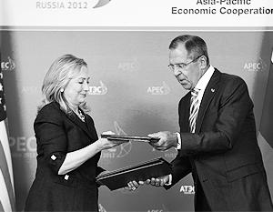 Хиллари Клинтон и Сергей Лавров на встрече подписали ряд важных для России и США документов