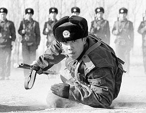 Численность армии Китая в 10 раз превосходит японскую