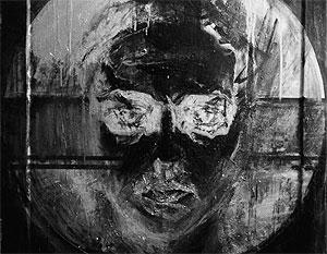Один из спорных экспонатов: картина Евгении Мальцевой «Спаситель»