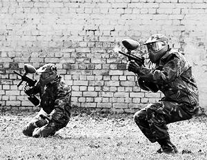 Спецназ отныне не сможет бесплатно наряжаться в пейнтбольную форму, изобретенную российскими самоучками