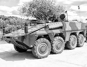 Россия начала испытания немецко-голландских бронемашин
