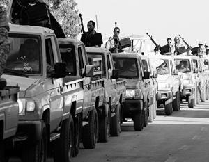 В ливийском Бани-Валиде продолжаются ожесточенные боестолкновения
