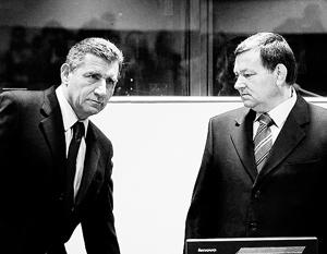 Бывшие хорватские генералы отсидели за свои преступления лишь год