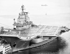 Авианосец «Варяг» Китай купил у Украины еще в 1998 году и отремонтировал его