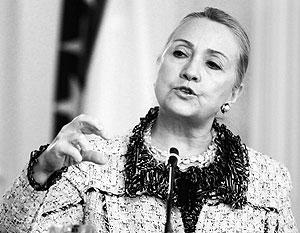 Клинтон пообещала не допустить воссоздания СССР