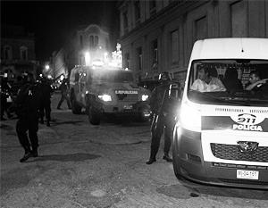 На месте трагедии полиция обнаружила сотни неиспользованных патронов