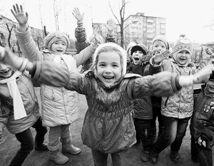 Больше детей, хороших и разных, говорит нам РПЦ