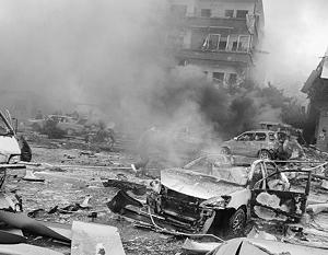 По свидетельству очевидцев, взрыв произошел в одном из самых тихих и спокойных районов Дамаска