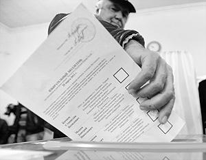 В нынешнем виде избирательный бюллетень в урну не поместится