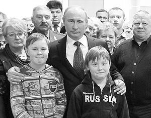 Россияне по-прежнему связывают свое будущее с фигурой Владимира Путина