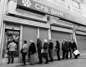 С крупных вкладчиков Cyprus Popular Bank снимут 80% денег