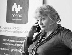 Глава «Голоса» Лилия Шибанова рискует первой подпасть под штраф в полмиллиона рублей