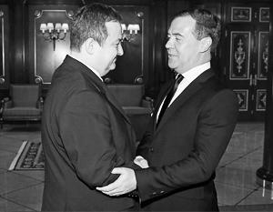 10 апреля. Переговоры Дмитрия Медведева и главы сербского правительства Ивицы Дачича