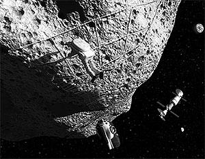 За бурение на астероидах уже развернулась конкурентная борьба