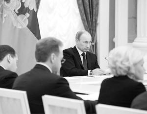 Владимир Путин не позволил министрам «перевести стрелки» на себя