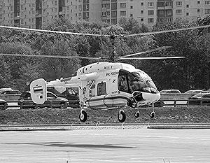 Модификация вертолета Ка-226 для нужд МЧС