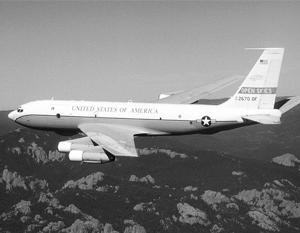 Боинг OC-135B используется воздушными ревизорами НАТО для надзора за российскими и белорусскими войсками