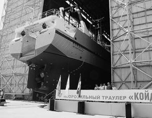 Траулер «Койда 2» будет вылавливать треску в Баренцевом и Норвежском морях